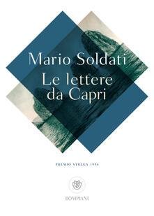 Le lettere da Capri - Mario Soldati - copertina