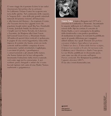 Giona delle sequoie. Viaggio tra i giganti rossi del Nord America - Tiziano Fratus - 3