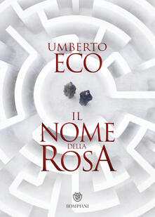 Il nome della rosa - Umberto Eco - copertina
