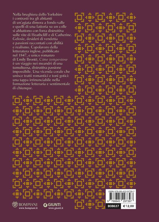 Cime tempestose - Emily Brontë - 2