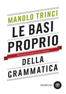 Radiosenisenews.it Le basi proprio della grammatica. Manuale di italiano per italiani Image