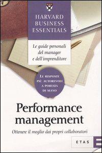 Foto Cover di Performance management. Ottenere il meglio dai propri collaboratori, Libro di  edito da Etas