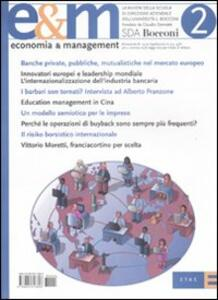 Economia & management. Vol. 2