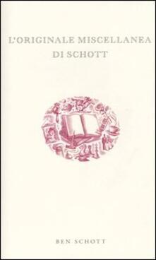 Squillogame.it L' originale miscellanea di Schott Image