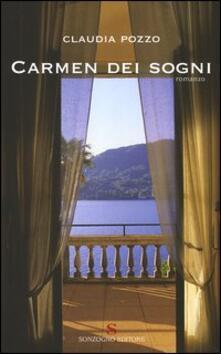 Carmen dei sogni - Claudia Pozzo - copertina