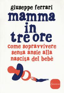 Mamma in tre ore. Come sopravvivere senza ansie alla nascita del bebè - Giuseppe Ferrari - copertina