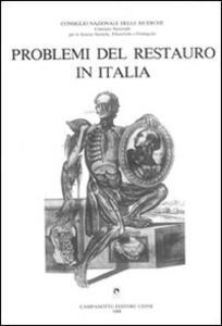 Problemi del restauro in Italia