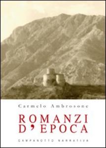 Libro Romanzi d'epoca Carmelo Ambrosone
