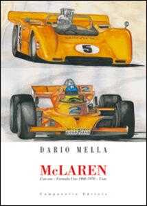 Libro McLaren. Can-am. Formula Uno 1966-1970. Usac Dario Mella