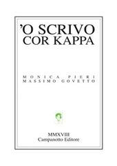 Copertina  'O scrivo cor kappa
