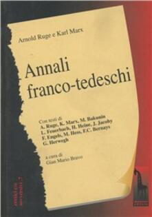 Librisulladiversita.it Annali franco-tedeschi (1-2) Image