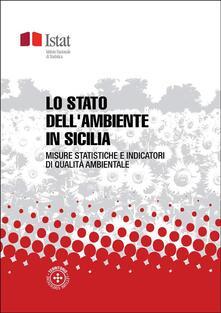 Lo stato dell'ambiente in Sicilia - Istat - ebook