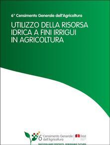 Utilizzo della risorsa idrica a fini irrigui in agricoltura - Istat - ebook