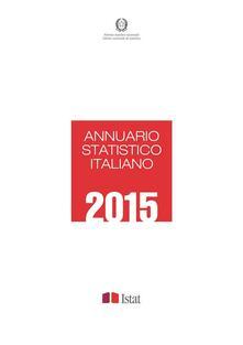 Annuario statistico italiano 2015 - Istat - ebook