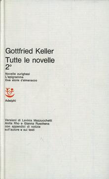 Filippodegasperi.it Tutte le novelle. Vol. 2 Image