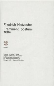 Opere complete. Vol. 7/2: Frammenti postumi (1884)..pdf