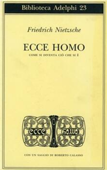 Associazionelabirinto.it Ecce homo. Come si diventa ciò che si è Image