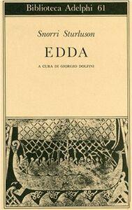 Libro Edda Sturluson Snorri