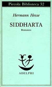 Siddharta - Hermann Hesse - copertina