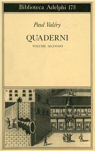 Libro Quaderni. Linguaggio, filosofia. Vol. 2 Paul Valéry