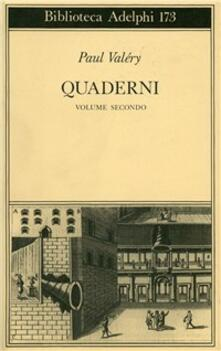 Quaderni. Linguaggio, filosofia. Vol. 2 - Paul Valéry - copertina