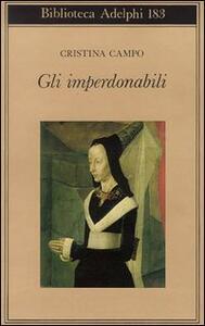 Gli imperdonabili - Cristina Campo - copertina