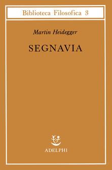 Segnavia - Martin Heidegger - copertina