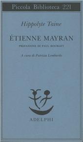 Etienne Mayran
