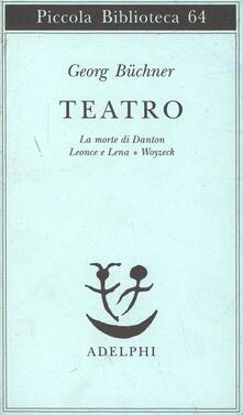 Daddyswing.es Teatro. La morte di Danton-Leonce e Lena-Woyzeck Image