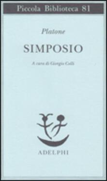 Il simposio - Platone - copertina