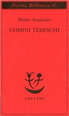 Premioquesti.it Uomini tedeschi. Una serie di lettere Image
