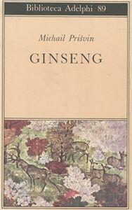 Libro Ginseng Michail Prisvin