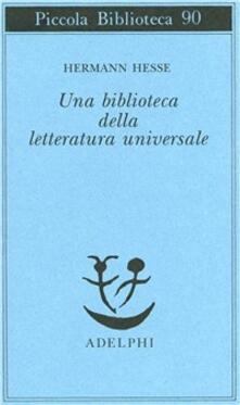 Voluntariadobaleares2014.es Una biblioteca della letteratura universale Image