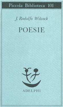 Poesie - J. Rodolfo Wilcock - copertina