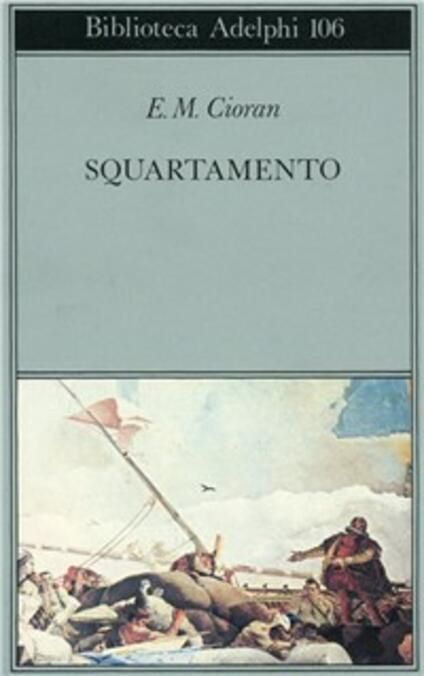 Squartamento - Emil M. Cioran - copertina