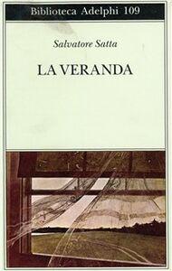 Libro La veranda Salvatore Satta