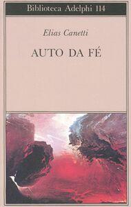 Libro Auto da fé Elias Canetti