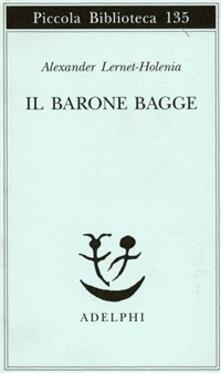 Il barone Bagge - Alexander Lernet-Holenia - copertina