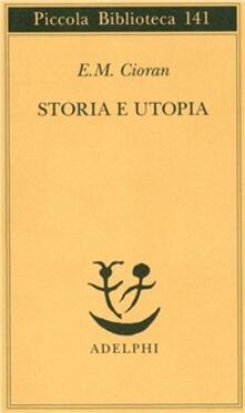 Storia e utopia - Emil M. Cioran - copertina
