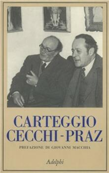 Winniearcher.com Carteggio Cecchi-Praz Image