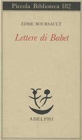 Lettere di Babet