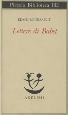 Winniearcher.com Lettere di Babet Image