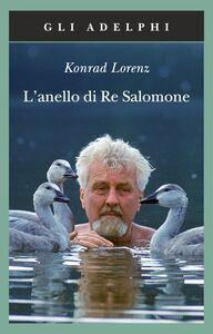 Libro L' anello di re Salomone Konrad Lorenz