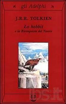 Lo Hobbit o La riconquista del tesoro - John R. R. Tolkien - copertina
