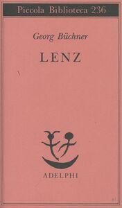 Foto Cover di Lenz, Libro di Georg Büchner, edito da Adelphi