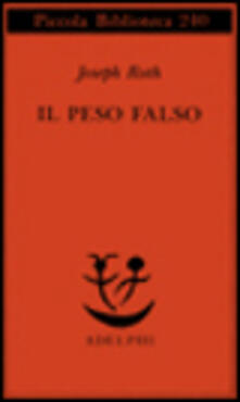 Radiospeed.it Il peso falso Image
