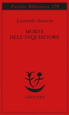 Morte dell'inquisitore - Leonardo Sciascia - copertina