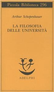 La filosofia delle università