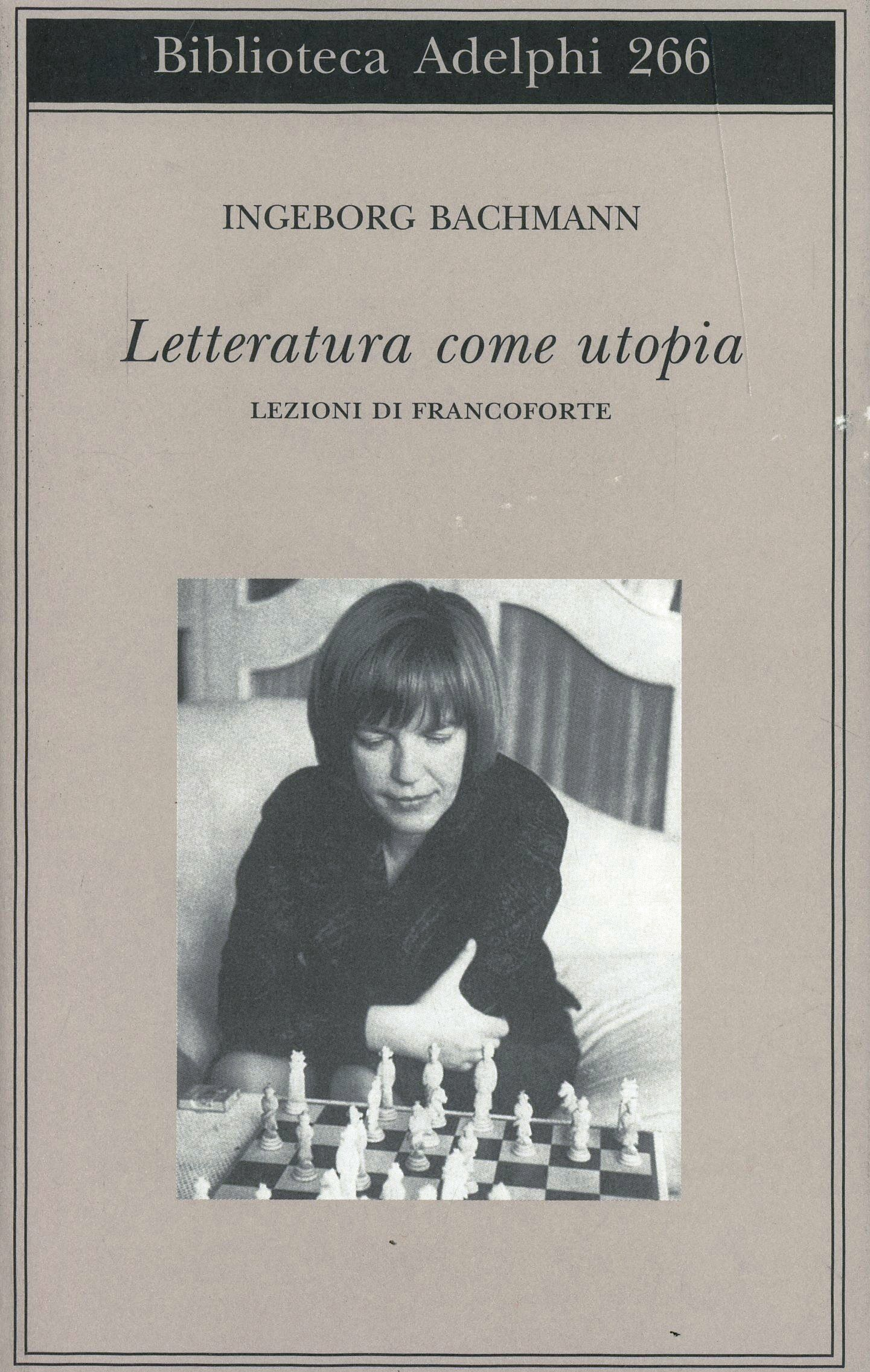 Letteratura come utopia. Lezioni di Francoforte