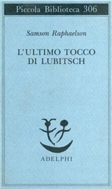 L ultimo tocco di Lubitsch.pdf